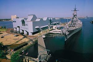 Nauticus and the Battleship Wisconsin