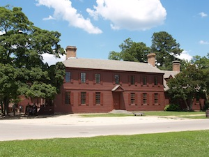Peyton Randolph Home in Williamsburg VA